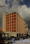 Ленинский проспект, дом 160. Корпус по Ленинскому проспекту. Фото 17 марта 2014 года.