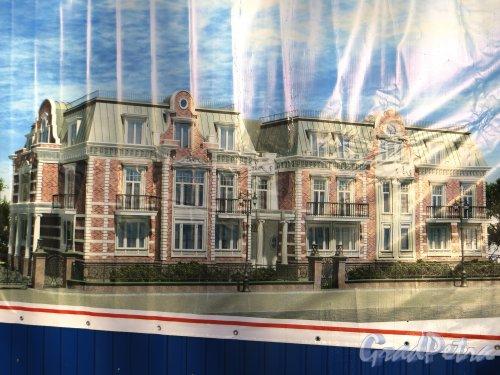 Санаторная аллея, дом 3, литера А. Проект Клубного дома «Дель Арте». Фото 11 февраля 2015 года.