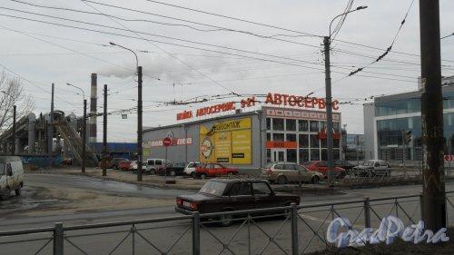 Придорожная аллея, дом 6. Автосервис «Автодепо», 244-59-81, 8-981-830-14-74. Фото 13 марта 2016 года.