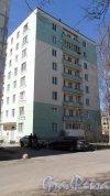 Бульвар Новаторов, дом 39. 8-этажный жилой дом серии Г-4И 1963 года постройки. 1 парадная, 48 квартир. Фото 3 мая 2017 года.