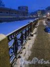 Набережная реки Мойки у Конюшенного двора. Зимой в вечернем освещении. фото январь 2015 г.
