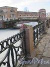 Река Мойка у Конюшенного двора. фото 1 марта 2015 г.