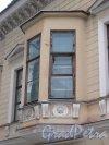 10-я линия В.О., дом 19. Эркер особняка С. Сиверса. Фото 3 февраля 2013 года.