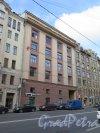 9-я линия В.О., д. 36. Производственный корпус табачной фабрики им. Урицкого, 1939 (ныне Бизнес-центр). Общий вид фасада. фото сентябрь 2015 г.