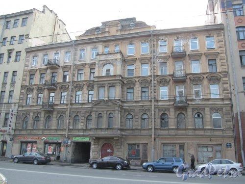9-я линия В.О., дом 56. Общий вид фасада здания. Фото 13 апреля 2012 года