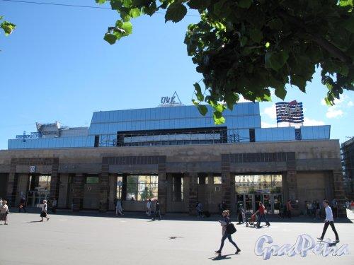 станция метро Спасская. Наземный павильон. Общий вид. фото июль 2014 г.