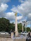 Уральский мост через р. Смоленку в створе 8 и 9 линий В.О. Пилон. Фото сентябрь 2011 г.