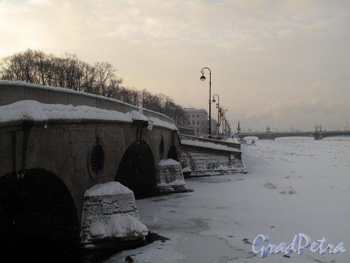 Прачечный мост зимой. Фото январь 2011 г.