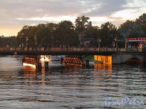 Иоанновский мост на закате. Фото сентябрь 2011 г.