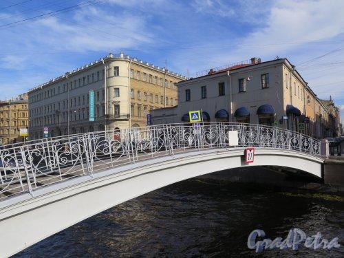 Мучной мост, 1951-52, инж. П. В. Баженов. Общий вид моста. фото август 2016 г.