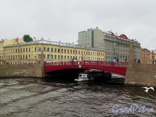 Красный мост. Общий вид. фото июль 2017 г.