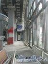 Пироговская наб., дом 21 (БЦ «Нобель»). Вид 1 этажа после выезда магазина. Фото 19 сентября 2014 г.