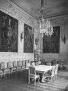Малая (Белая) столовая в Зимнем дворце. Фото 1917 года.