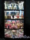 Наб. реки Фонтанки, д. 34. Дворец Шереметевых. Главный корпус. Музей музыки. Посудный шкаф. фото май 2017 г.