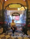 Наб. реки Фонтанки, д. 21. Шуваловский дворец. Музей Фаберже. Выставка Модильяни. Декоративная беседка перед входом. фото февраль 2018 г.