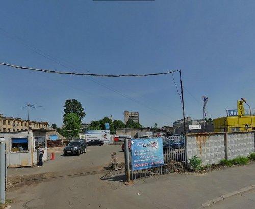 Набережная реки Смоленки, дом 3. Панорама Яндекс-карты.