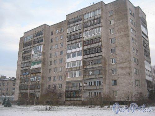 Лен. обл., Выборгский р-н, г. Приморск, наб. Лебедева, дом 21. Общий вид. Фото 7 декабря 2013 г.