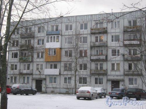 Лен. обл., Выборгский р-н, г. Приморск, наб. Юрия Гагарина, дом 7. Общий вид со стороны фасада. Фото 7 декабря 2013 г.
