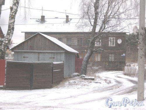 Лен. обл., Выборгский р-н, г. Приморск, наб. Юрия Гагарина, дом 42. Общий вид. Фото 7 декабря 2013 г.