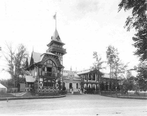 Фасад дачи графини М.Э.Клейнмихель