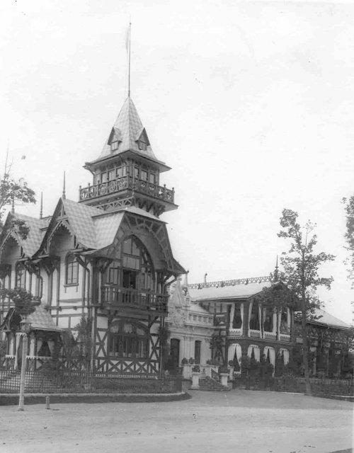 Угловой фасад дачи графини М.Э.Клейнмихель