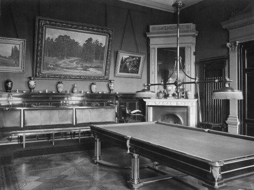 Библиотека императора Николая II. Фото 1917 года.