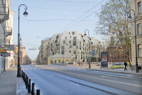 Проект жилого дома на участке мебельной фабрики Ф. А. Мельцера (набережная реки Карповки, дом 27) от ООО «Архитектурная мастерская «Студия-44».