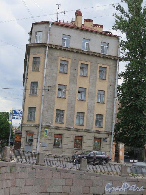 Наб. канала Грибоедова, д. 154 / Английский пр., д. 35. Вид на здание с набережной. Фото август 2015 г.