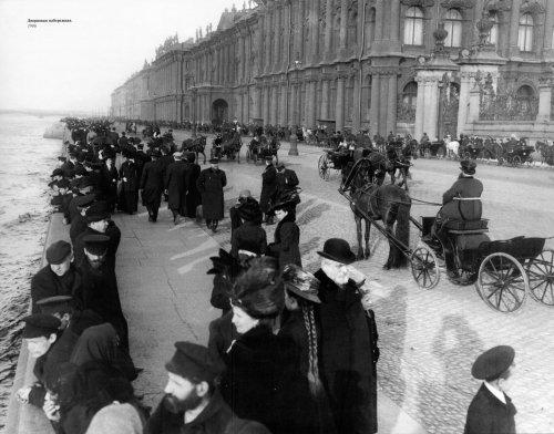 «Дворцовая набережная. 1906 год»