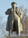 Памятник В. И. Ленину в пос. Парголово на пересечении Выборгского шоссе и улицы Ломоносова. Фото апрель 2012 г.