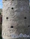Копорская крепость, 13-18 вв. Наугольная башня. Фрагмент. фото июль 2015 г.