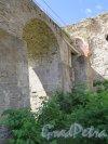 Копорская крепость, 13-18 вв. Мостовая конструкция. фото июль 2015 г.
