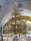 Церковь Николая Чудотворца в Котлах, Центральная люстра. Общий вид. фото июль 2015 г.