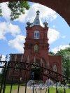 Церковь Николая Чудотворца в Котлах. Общий вид участка. фото июль 2015 г.