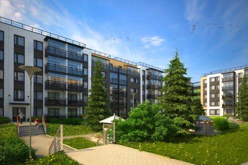 Проект жилого комплекса «Финский городок «Юттери»