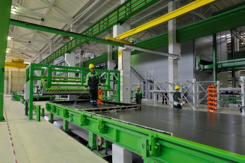 Цех комбината по производству ЖБИ для домостроения «Гатчинский ССК».