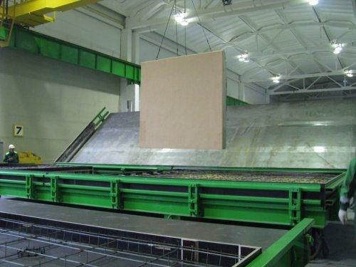Один из цехов комбината по производству ЖБИ для домостроения «Гатчинский ССК».