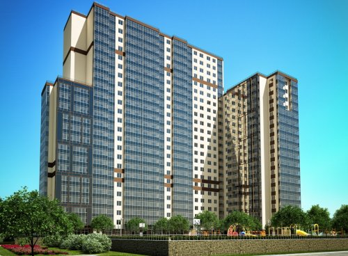 Проект жилого дома 13 жилого комплекса «Мой Город».