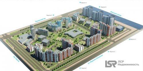 Общий проект жилого комплекса «Южная акватория».