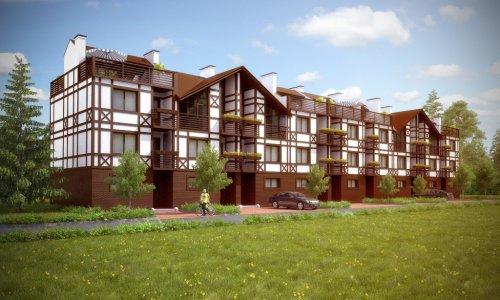 Жилой комплекс «Альпийская Деревня» от компании IMD Group. Проект таунхауса.