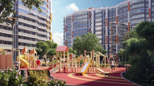 Проект детской площадки в «UP-квартал «Светлановский».