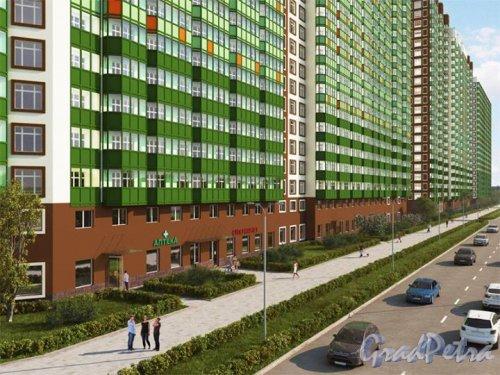 Строительной компанией Setl City, входящей в Setl Group, получено разрешение на ввод в эксплуатацию новых корпусов ЖК «GREENЛандия» - в частности, дома 3 и домов 6 и 7 со встроенными детскими садами на 100 и 140 человек. На данном этапе в продаже осталось менее 7% квартир.