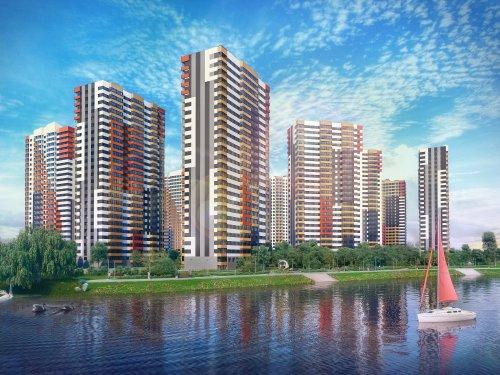 Проект жилого комплекса «Невские паруса», реализуемого Setl City в Невском районе Санкт-Петербурга.