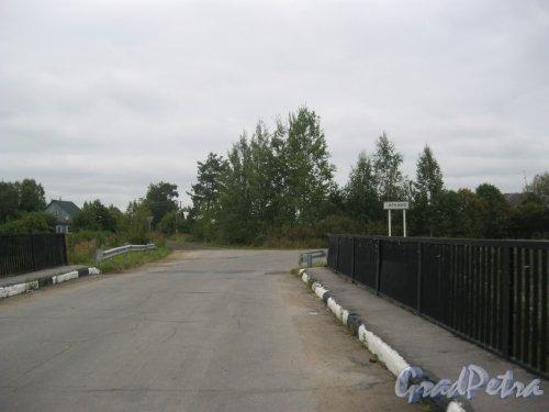 Лен. обл., Гатчинский р-н, дер. Ковшово. Автомобильный мост через р. Суйда. Фото 3 сентября 2015 г.