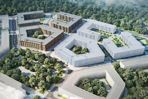 Проект жилого комплекса «Неоклассика», возводимого в раках проекта «На Царскосельских холмах».