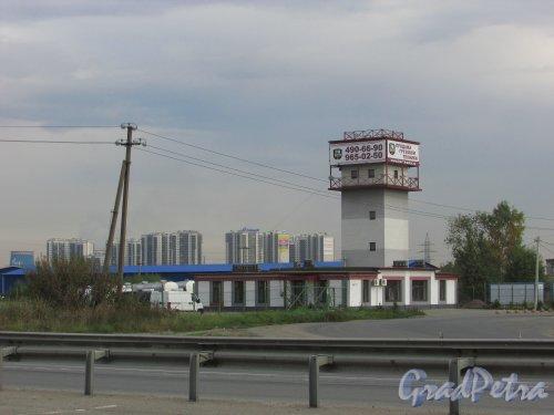 Всеволожский район, посёлок Новосаратовка, территория САОЗТ «Приневское». Фото 25 сентября 2015 года.