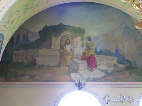 Церковь Николая Чудотворца в Котлах. Падуга купола. Общий вид. фото июль 2015 г.