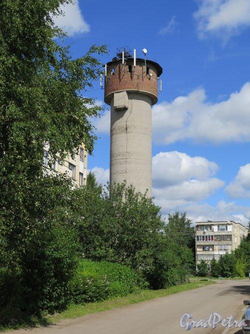 Пос. Романовка, 7, лит. А. Водонапорная башня. Общий вид. фото июль 2015 г.