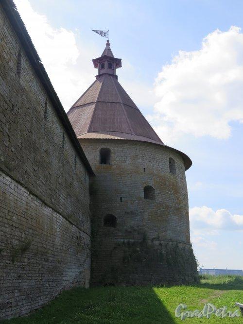 Шлиссельбург, г. Крепость Орешек. Головина башня. фото август 2015 г.