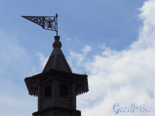 Шлиссельбург, г. Крепость Орешек. Головина башня. Навершие башни с флюгером. фото август 2015 г.